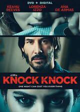 Knock Knock (DVD, 2015) horror movie by Eli Roth starring Keanu Reeves - nudity