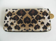 Red Valentino Multi Coloured Leopard Zip Around Purse/Wallet  NWT/$395