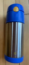 Thermos Foogo Vacuum Insulated Bottle Stainless 12hrs Cold Silver 12oz