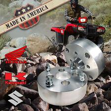 "USA MADE | ATV 2"" Honda Suzuki Kawasaki Wheel Adapters Spacers | 4x110 to 4x4.5"