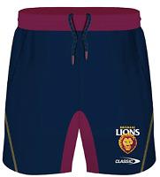 Brisbane Lions AFL 2021 Players Classic Training Shorts Sizes S-5XL!
