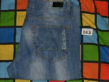 BENCH Skinny Blue Jeans W34, L32. Tight on the legs
