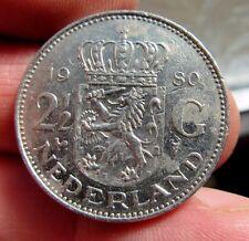 1980 Reina Juliana Países Bajos 2 1/2 florín