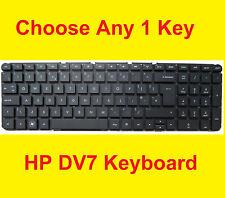 1 HP DV7 Key for: DV7-6000 DV7-6100 DV7-6200 639396-001 634016-001 US Laptop OEM