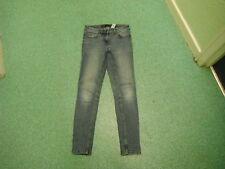 """Next Jeans Ajustados Talla 8r Pierna 29"""" Descolorido Azul Medio Vaqueros Mujer"""