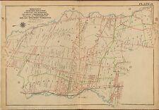 1913 HILLSDALE, ORVIL, EMERSON RIDGEWOOD BERGEN COUNTY NEW JERSEY COPY ATLAS MAP