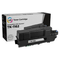 LD Compatible Kyocera TK-1162 (1T02RY0US0) Black Toner for ECOSYS P2040dw