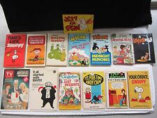 Lot of 14 Funnies Paperback Collections ~ Hagar Charlie Brown Beetle Bailey etc.