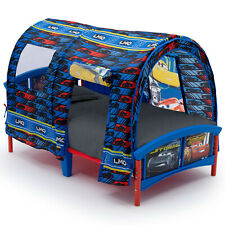 Toddler Bed Cars Furniture Bedroom Kids Children Sturdy with Removable Tent