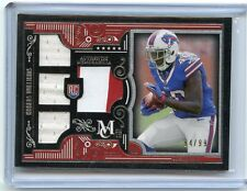 2015 MUSEUM COLLECTION #RQR-KW KARLOS WILLIAMS PATCH 3-JERSEY RC #94/99, BILLS