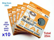 10x self adhesive home window door seal draught brush pile excluderl strip 25m