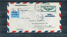 Interessanter Luftpostbrief USA - b0811