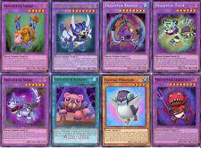 Fluffal Budget Deck Frightful Owl Bear Wolf 43 Cards Yugioh
