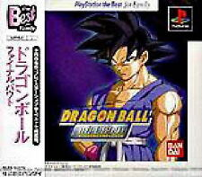DRAGONBALL BALL Z GT FINAL BOUT *RARE* PLAYSTATION/PS2 GAME *NEW* AUS EXPRESS