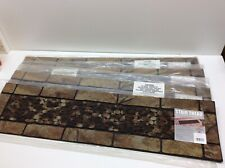 "4 - Mohawk Home Patio Stone and Pebbles Stair Treads 9"" x 35"""