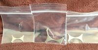 US mint errors, Nickel, Dime, Quarter Coin Webbing Lot, 3 pieces, US Coins