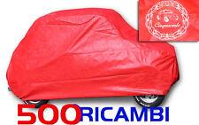 FIAT 500 F/L/R TELO AUTO COLORE ROSSO COPRI AUTO PER INTERNO ANTIPOLVERE TRASPIR