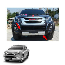 On Isuzu D-max Holden Rodeo 16 - 2017 Front Bumper Guard Cover Black Silver 1 Pc