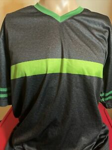7-Eleven Employee Uniform Shirt 7-11 Work XL Jersey Gray Stripe