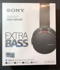 Sony Extra Bass Kabellos Stereo Headset [Schwarz Modell MDR-XB950B1] Neu