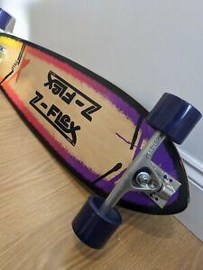 Z Flex Roundtail Longboard P.O.P Skateboard