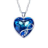 Swarovski ashling pendant ebay women infinite love heart made with swarovski crystal pendant necklace fashion aloadofball Gallery
