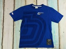 Carbrini Boys Royal Blue Printed Front & Back T-Shirt Age 10-11 Years