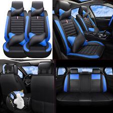 PU Leather Car Seat Cover 5-Sits For Honda Civic Accord HR-V Toyota Corolla RAV4