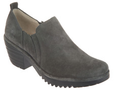 3*50 NEW Fly London Wate Diesel Oiled Suede Ankle Booties Women's Size 40