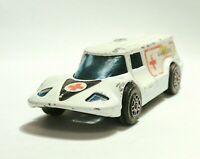 Diecast Vehicles  Corgi Juniors  White Healer Wheeler Ambulance - Vintage Toy b1