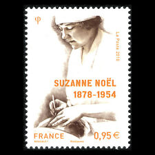 France 2018 - Suzanne Noël, 1878-1954 Science - MNH