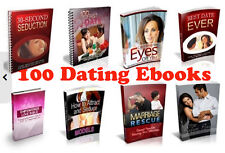 100 Dating and Relationship Ebooks Collection 5 ¢ per eBook  with MRR