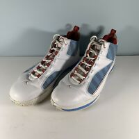 Nike Jordans Cp3 III Basketball Sneakers Shoes White Blue 385208-103 Size 11.5