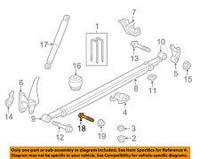 GM OEM Rear Suspension-Shock Bolt 11611959