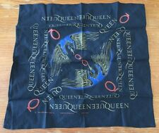 """New Queen Band Flag Fabric Textile Wall Banner Poster - 23"""" x 24"""""""