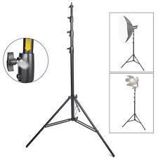 Studio Light Stand 4m Heavy Duty Air Cushioned Adjustable Professional Tripod