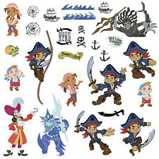 CAPTAIN JAKE and the NEVERLAND PIRATES Pirate Wall Stickers Big Disney Jr Decals