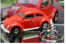 Custom Key Chain Classic '60s VW Volkswagen Beetle red