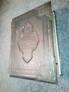 Antique Victorian Family Bible Large Heavy Gilt Edge