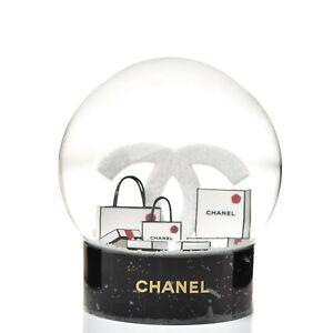 CHANEL CC Snow globe Luxury Gift Present VIP. BNIB. Boxed. New