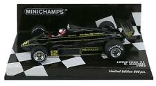 Minichamps 417820012 1/43 1982 Lotus Ford 91 Nigel Mansell F1 Model