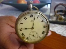 Silver Plated Mechanical (Hand-winding) Antique Pocket Watches