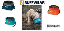 Ruffwear Gear Collapsible Travel Quencher CINCH TOP Dog Food Water Colors Sizes