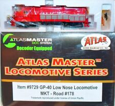 MKT 178 GP-40 DC DCC  Atlas Master HO 9729  Mint in Box S17.9