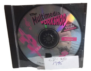 Multimedia Workshop (Ages 10+) (PC-CD, 1995) for Windows -