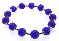 Pulseras de bisutería color principal azul cristal