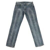 Levi's 511 Gris Slim Extensible Jean Taille W32