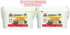 Augason Farms Emergency Food Storage Survival 48-Hour (4-Person) Kit (Pack of 2)