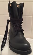 Vintage Military Boots Lace Up Moto Army 90s Army Punk Combat Cadet Soldier