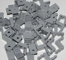 Lego Lot of 50 Light Bluish Gray Brackets 5 x 2 x 2 1/3 with 2 Holes Pieces